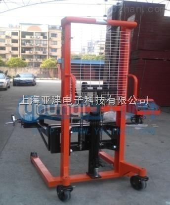 手动油桶堆高车秤150kg