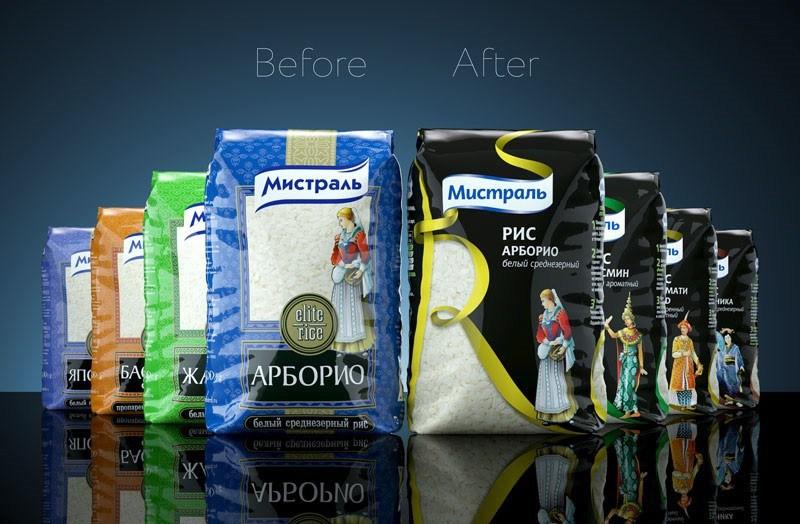 多款俄罗斯早餐麦片包装优化升级设计